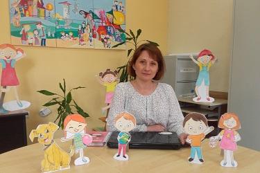 """Марияна Костадинова – мениджър """"Социална работа""""."""