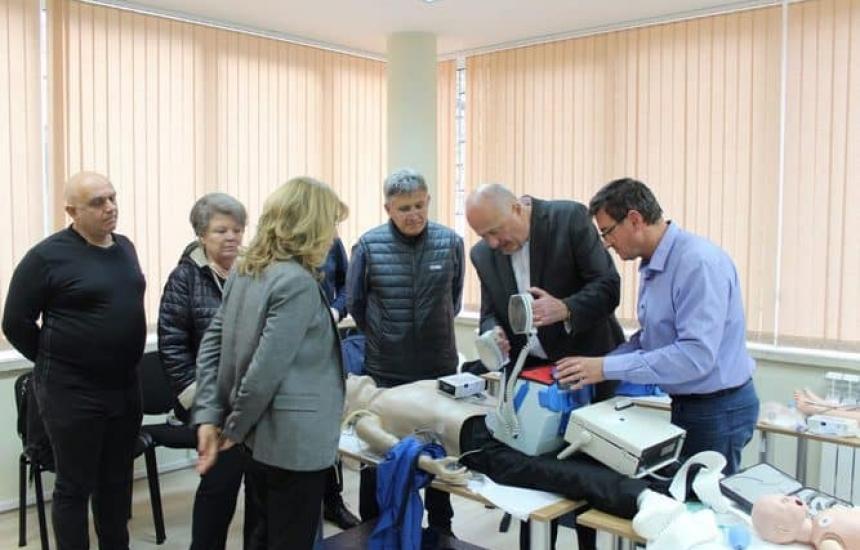 Лекари–преподаватели на обучение в Пирогов