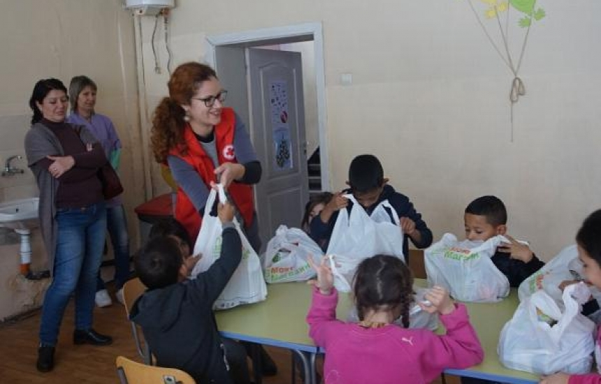 БЧК Бургас с дарителска кампания