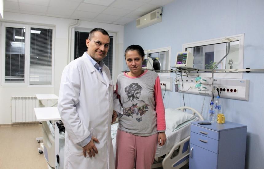 Спасиха жена с дисекация на каротидна артерия