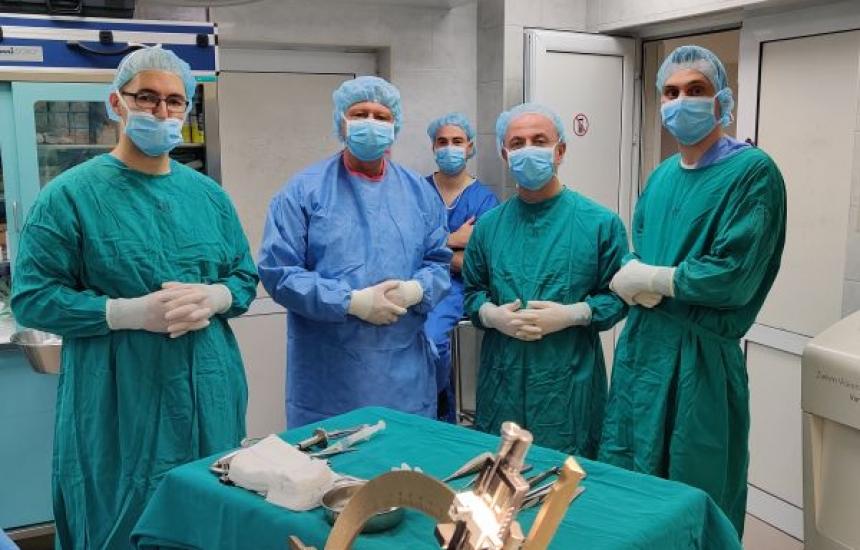 Нов метод за лечение на паркинсон във Варна