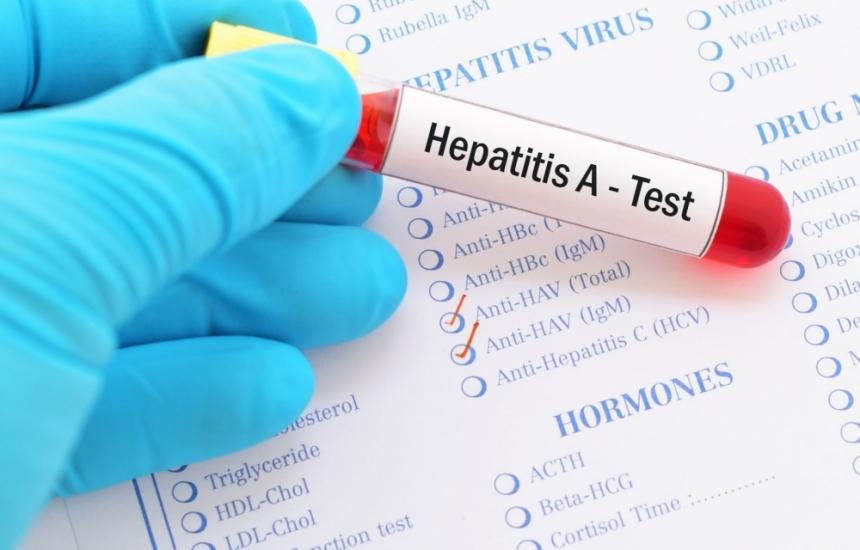 Взрив на хепатит А в три области