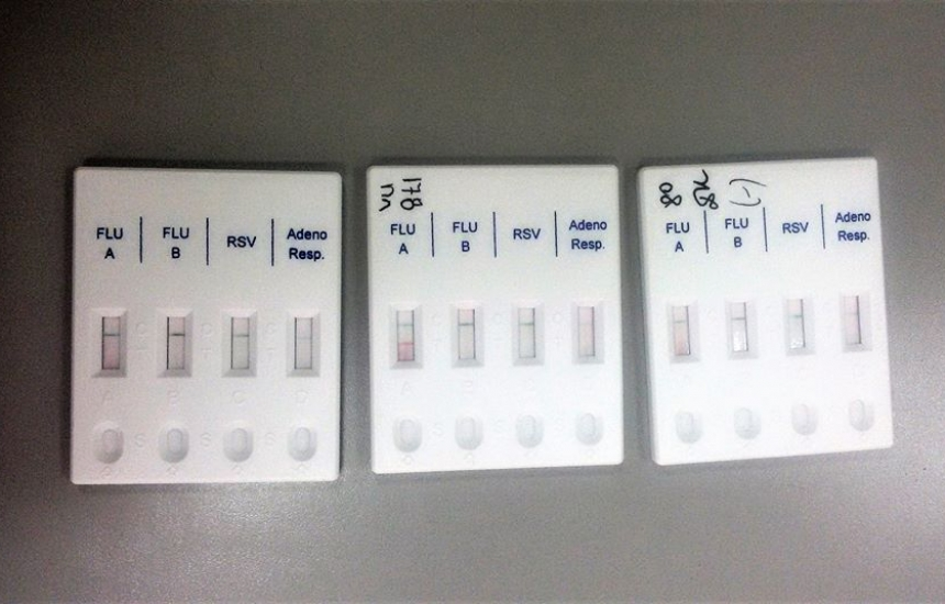 Бърз тест за грип в Александровска