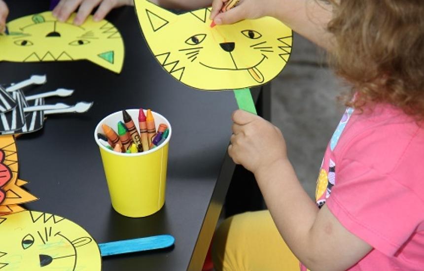 Арт терапия и музика в център за деца