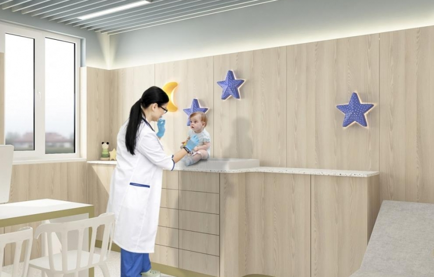 Детска болница до УМБАЛ Бургас