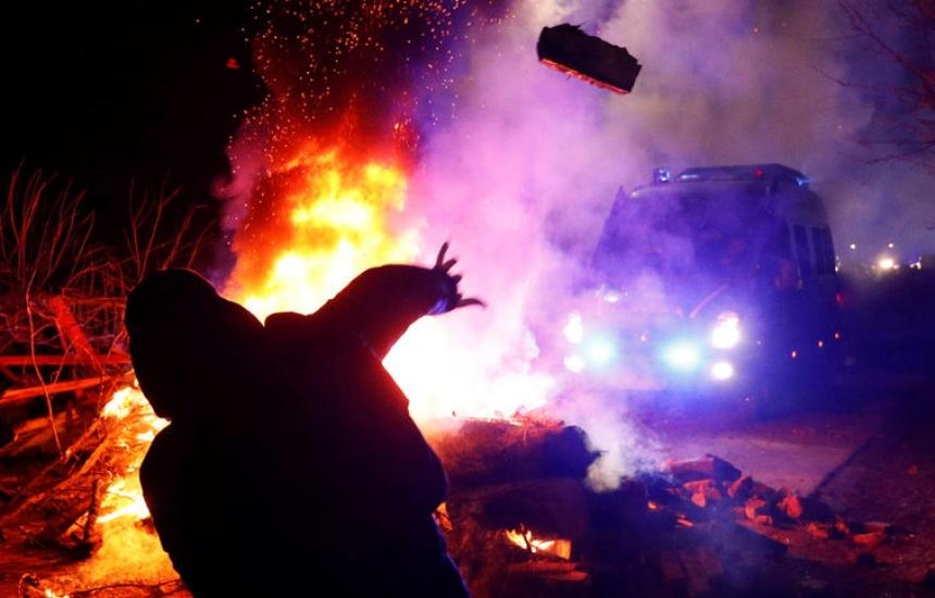 Украинци нападнаха евакуирани от Китай сънародници