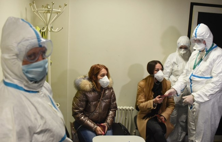 Учебна тренировка за коронавируса