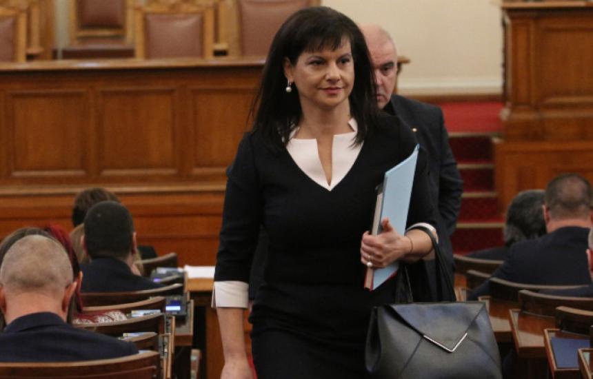 Даниела Дариткова е с КОВИД-19