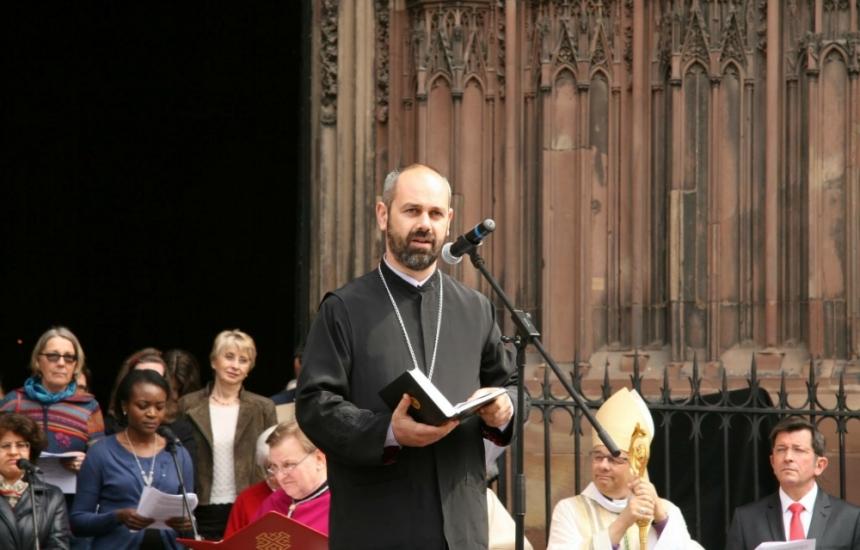 Духовният лечител на българите в Страсбург