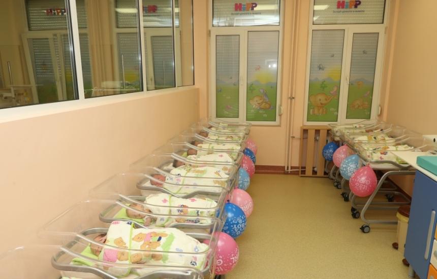 За 24 часа се родиха 16 бебета