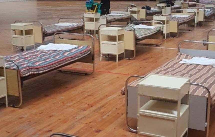Закриват полевата болница в Пловдив
