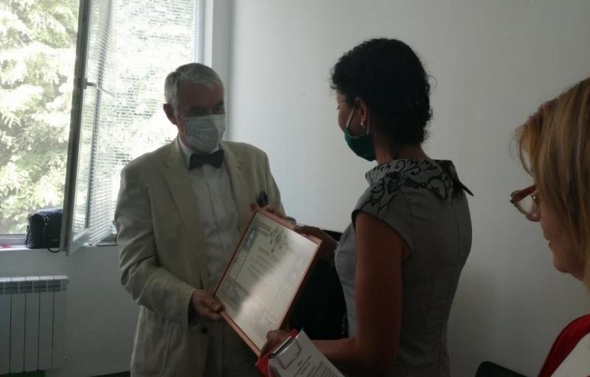 Наградиха кръводарители в УМБАЛ Бургас