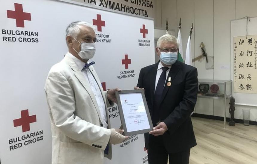 Ананиев със златен медал от БЧК