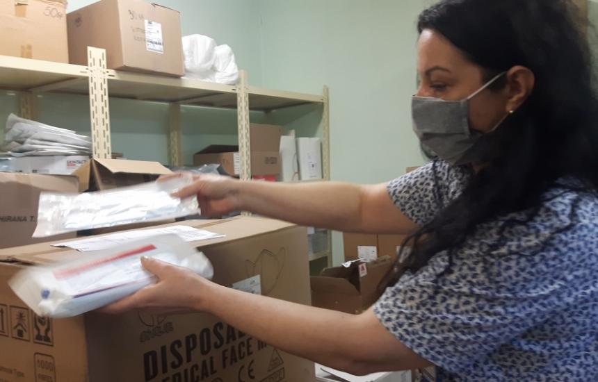 Kитай дари маски и на УМБАЛ-Бургас