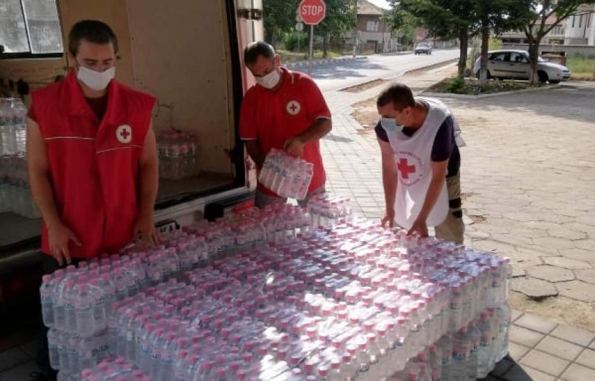 БЧК осигури 80 тона вода за Хасково
