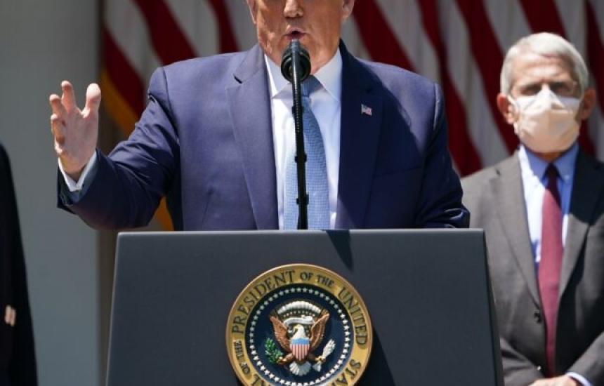 Тръмп остава без ваксина за изборите