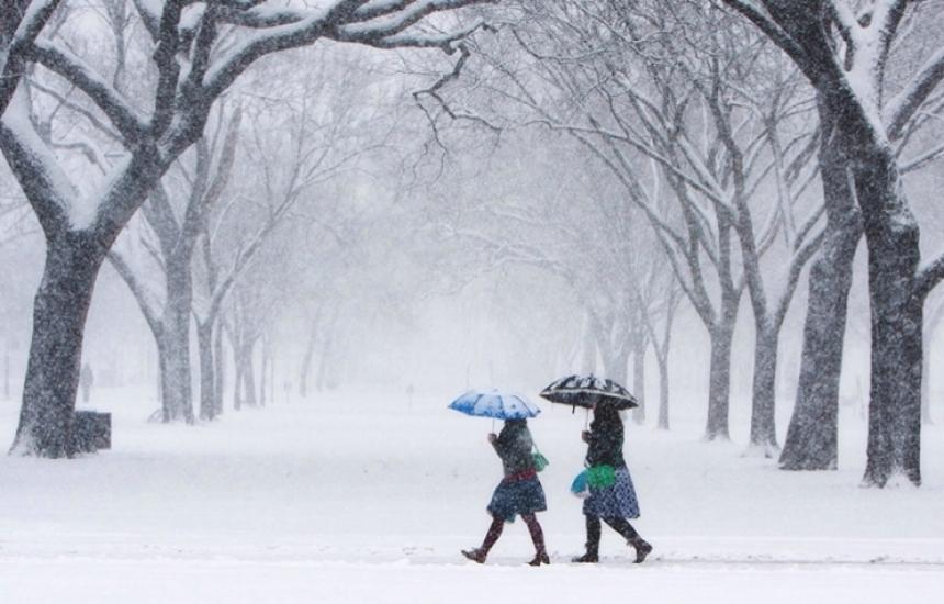 България в снежен капан
