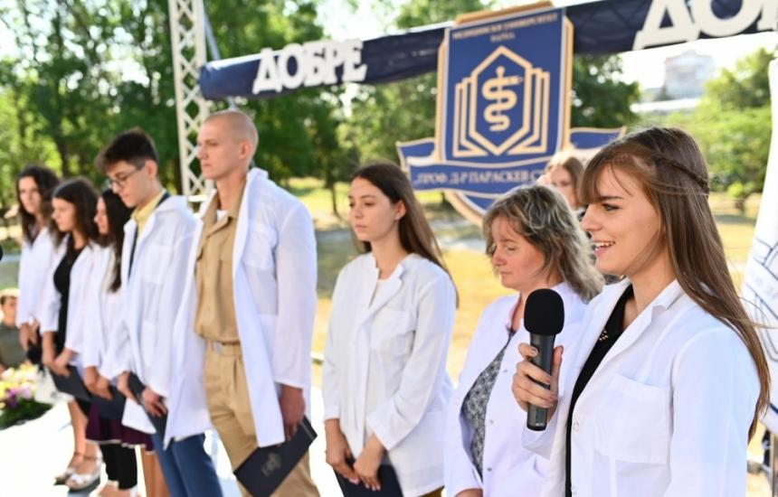 1500 първокурсници в МУ-Варна