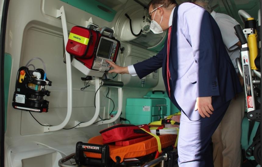 Доставят още 28 линейки 4х4 на спешна помощ