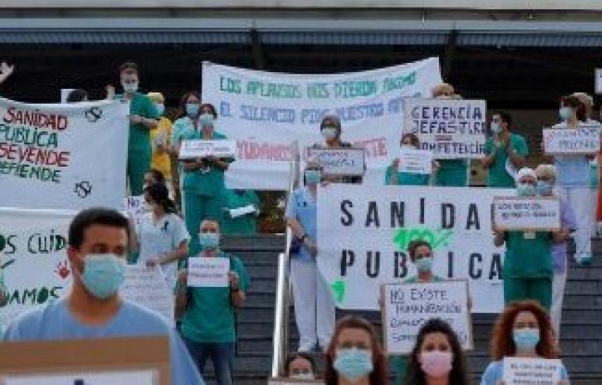 В Испания започва и стачка на медиците