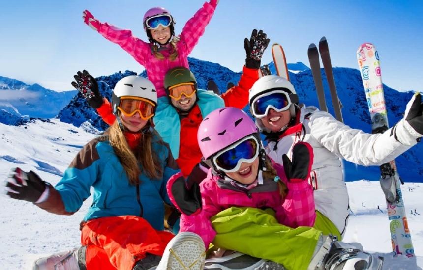 Времето омеква, става рай за ски