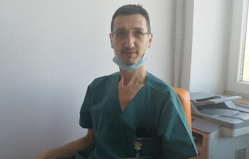 В Пловдив спасиха ръката на мъж