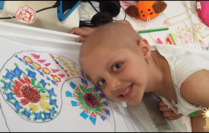 Да подкрепим артерапиите за онкоболни деца