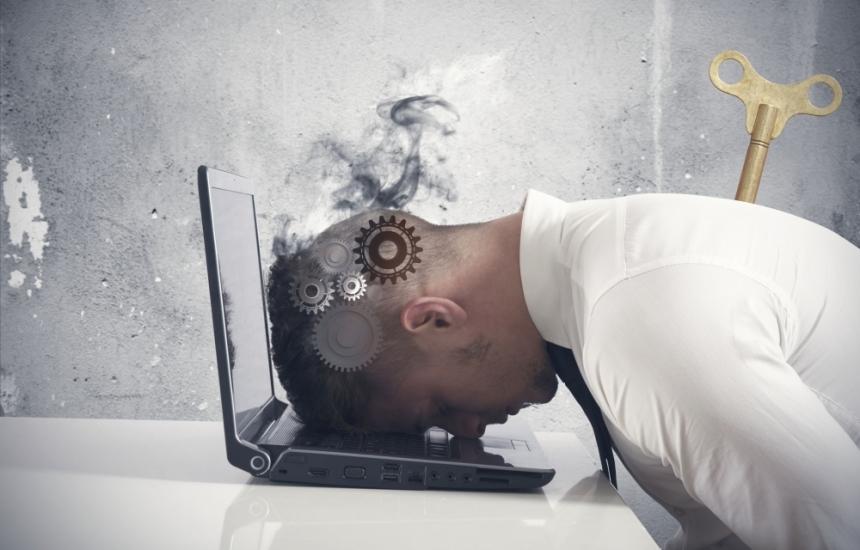 Прегарянето в офиса се лекува с почивка