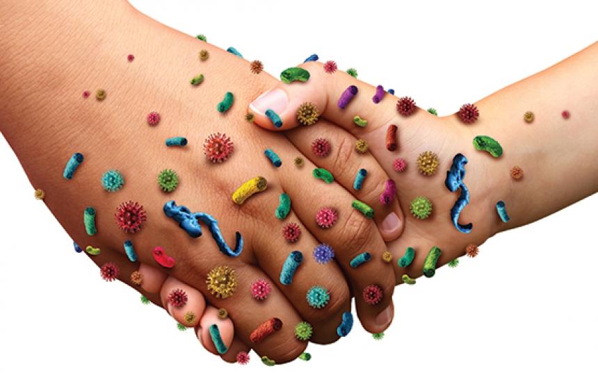80% от инфекциите са заради мръсни ръце