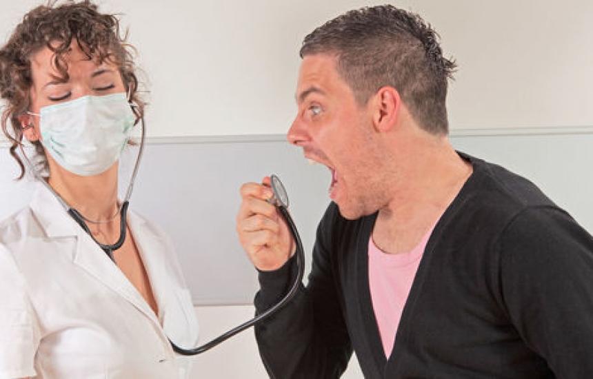 Курс за справяне с агресивни пациенти във ВМА