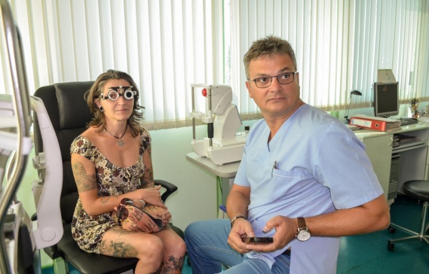 Лазер върна зрението на Радост от 10 на 100%