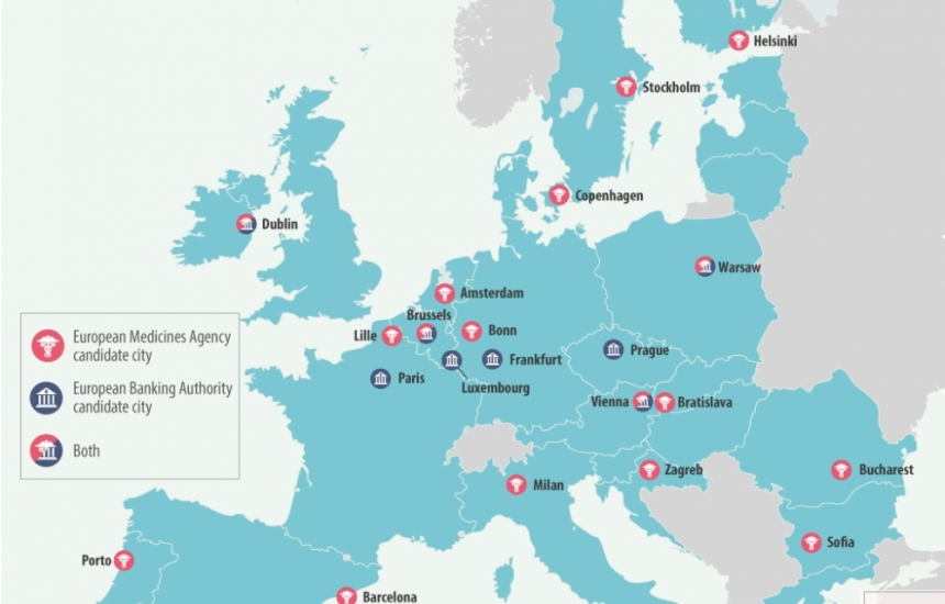 19 държави поискаха ЕМА