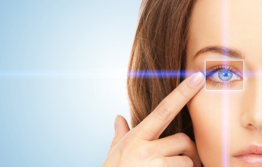 Лазерната корекция не е за болни очи