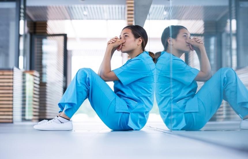 Медсестрите на протест