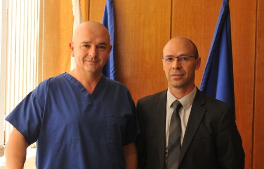Обучаваме военни лекари по френски модел