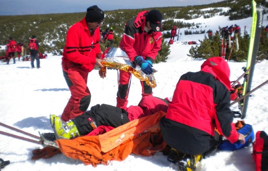 Рекордьори сме по спасителни акции в планината