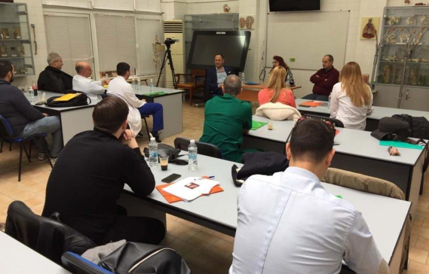 Курс за специалисти УНГ се проведе в Пловдив