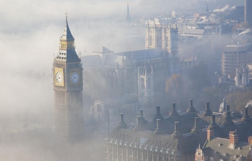 Въздухът в Лондон най-чист от 10 години