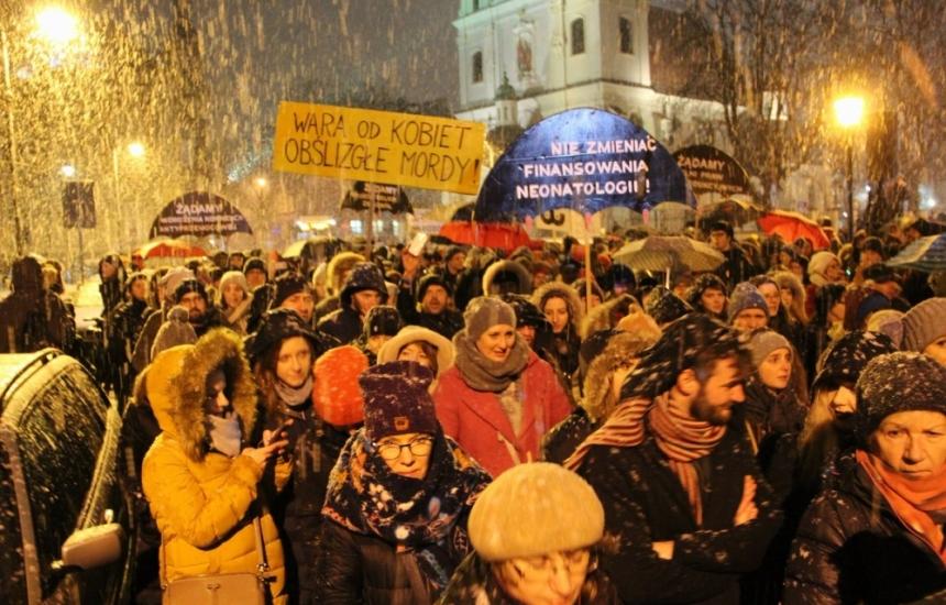 Протести в Полша за правото на аборти
