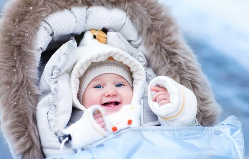 Грижа за бебешката кожа през зимата