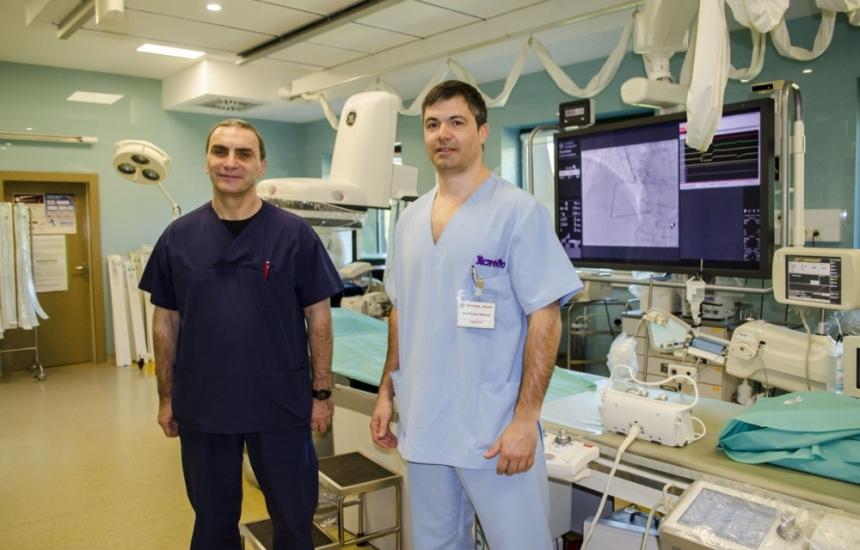 Спасиха пациент с инфаркт на червата