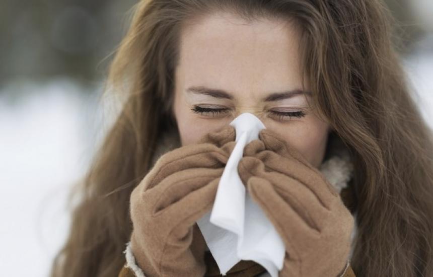 Осем починаха от грип в Румъния