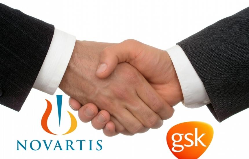 GSK oткупува част от Novartis