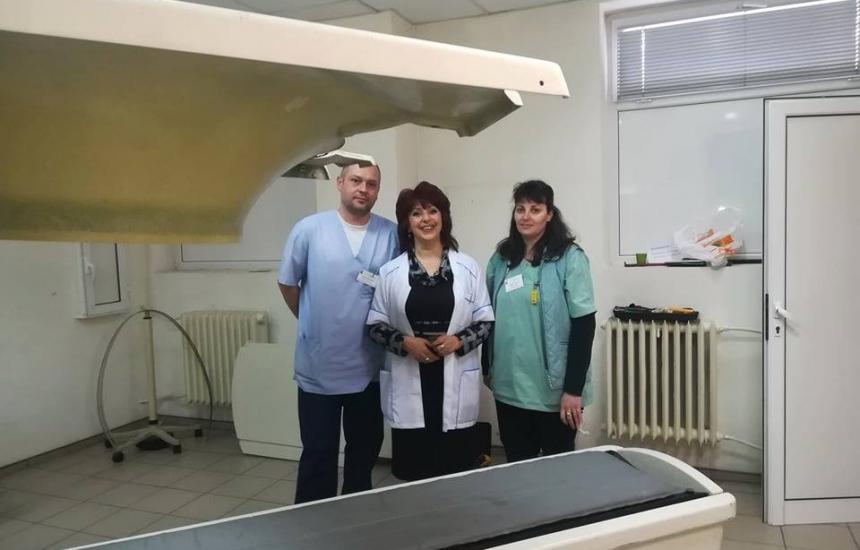 Смениха томографа в Горна Оряховица