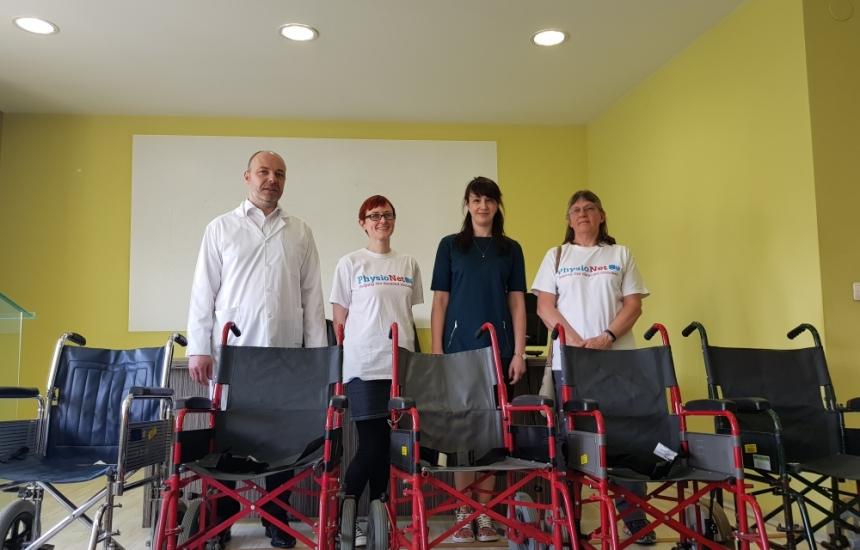 """Пирогов""  с нови инвалидни колички"