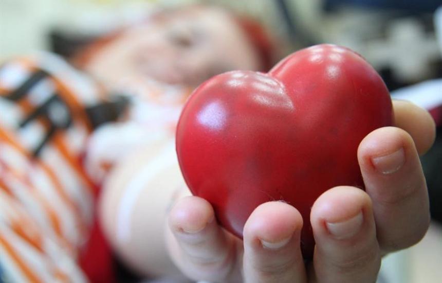 Кръводарителска акция в Деня на детето