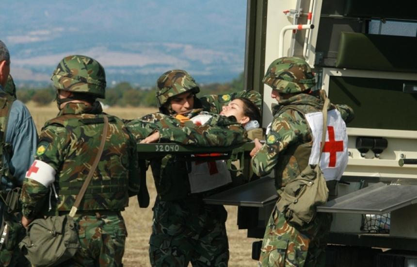 Обменяме опит с военни медици от 15 държави