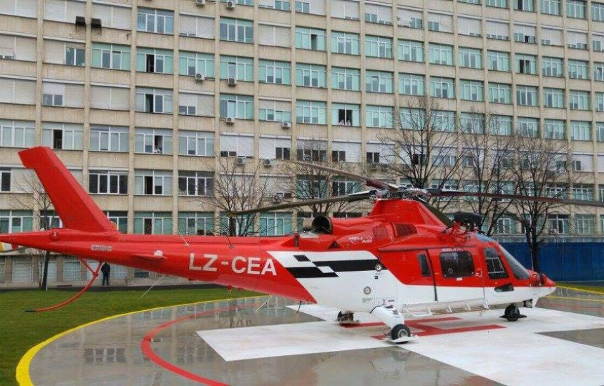 """Докараха жена с хеликоптер в """"Св. Анна"""