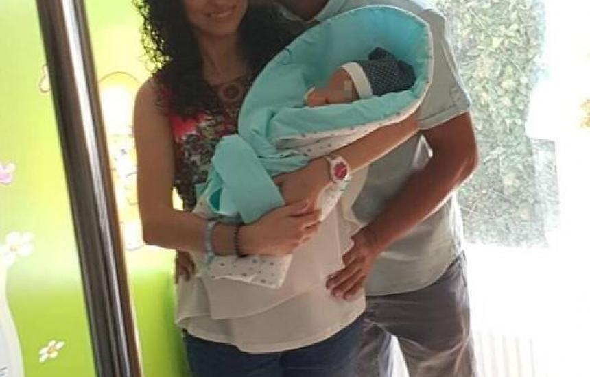 Румънеца стана татко