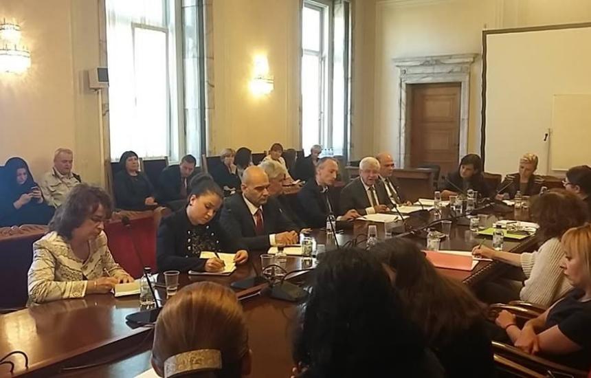 Горанов не дойде на срещата с майките